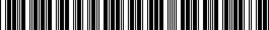 Barcode for 2SF14AB3059P