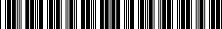 Barcode for 091003Y111