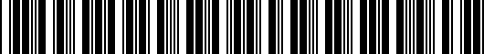 Barcode for 949502L000WK
