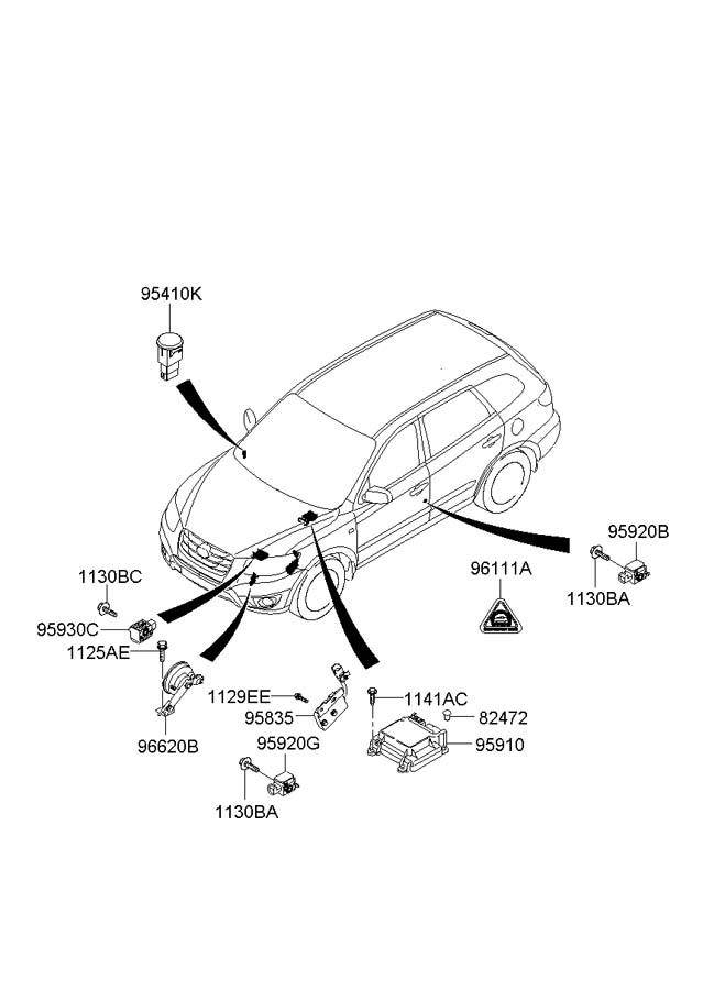 Hyundai Santa Fe Relay Assembly