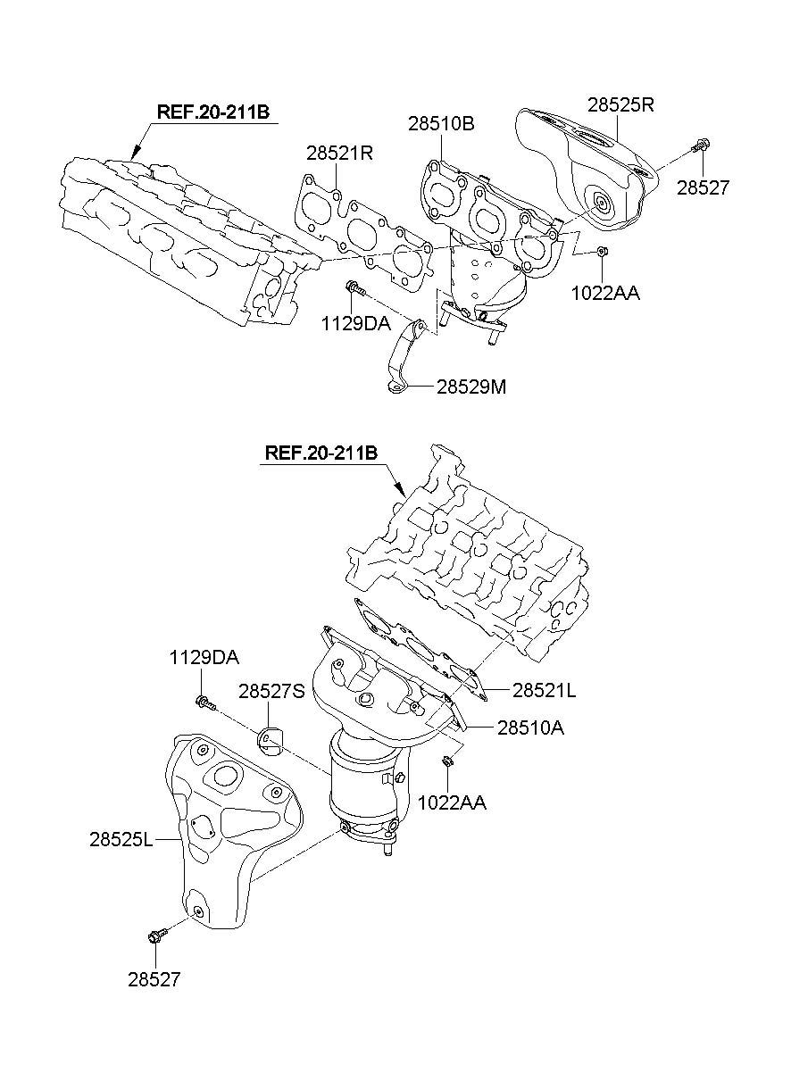 2011 Hyundai Santa Fe Protector - Heat Right   Right Hand