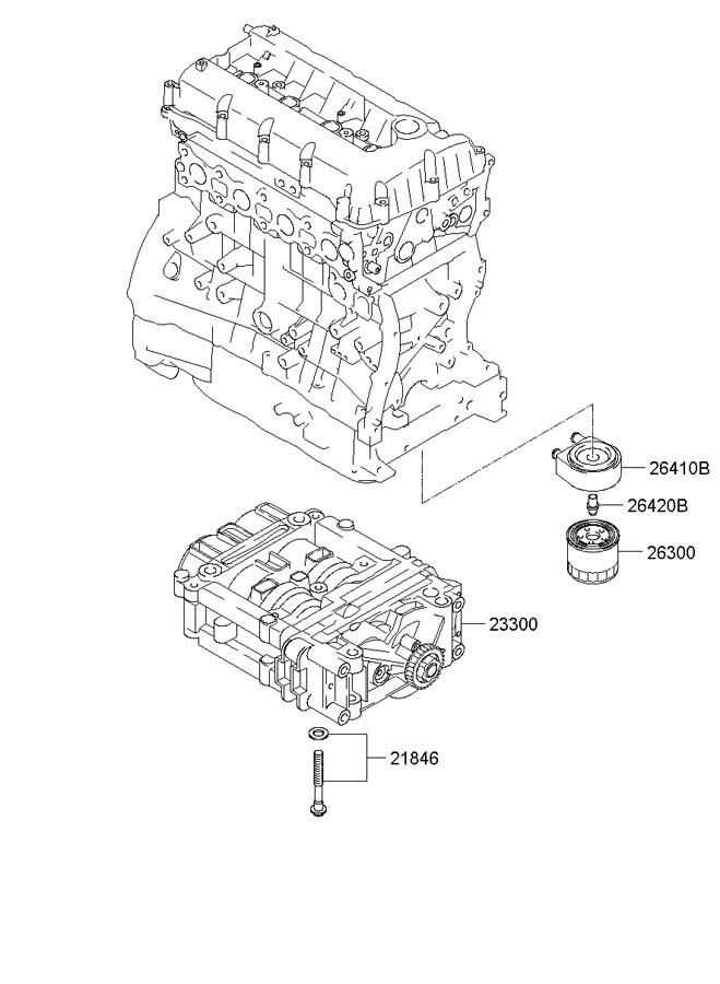 264102g100 - Hyundai Cooler Assembly