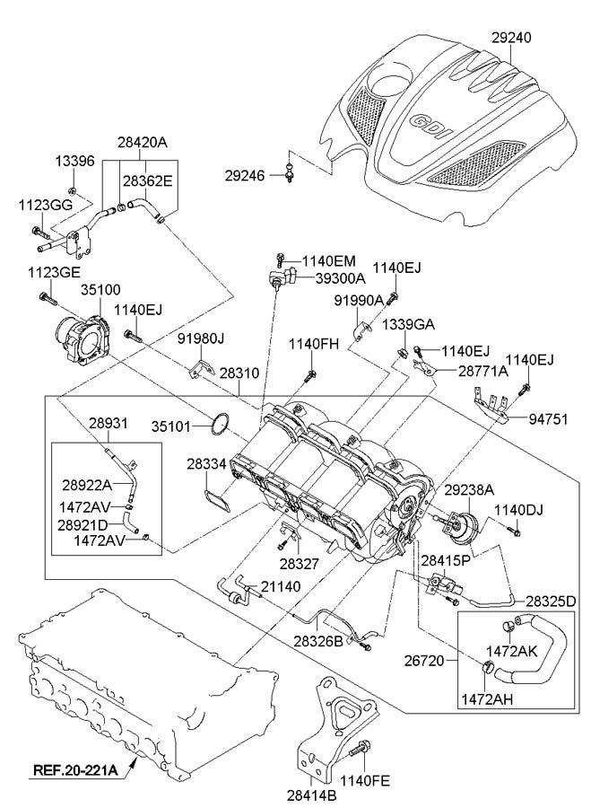 2013 Elantra Wiring Diagram additionally Crankshaft Position Sensor Hyundai Forums Hyundai Forum together with Toyota Camry Ac Lifier Location besides 4mrym Hyundai Santa Fe Gls Fuel Filter 2007 Santa furthermore 2010 2014 Hyunda Accent. on 2011 hyundai sonata gls