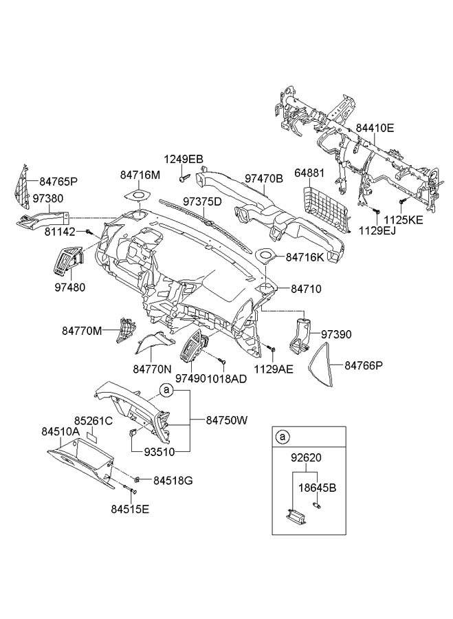 2012 hyundai sonata audio fuse panel  hyundai  auto fuse box diagram
