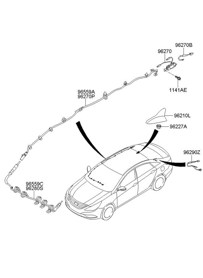 Hyundai Antenna