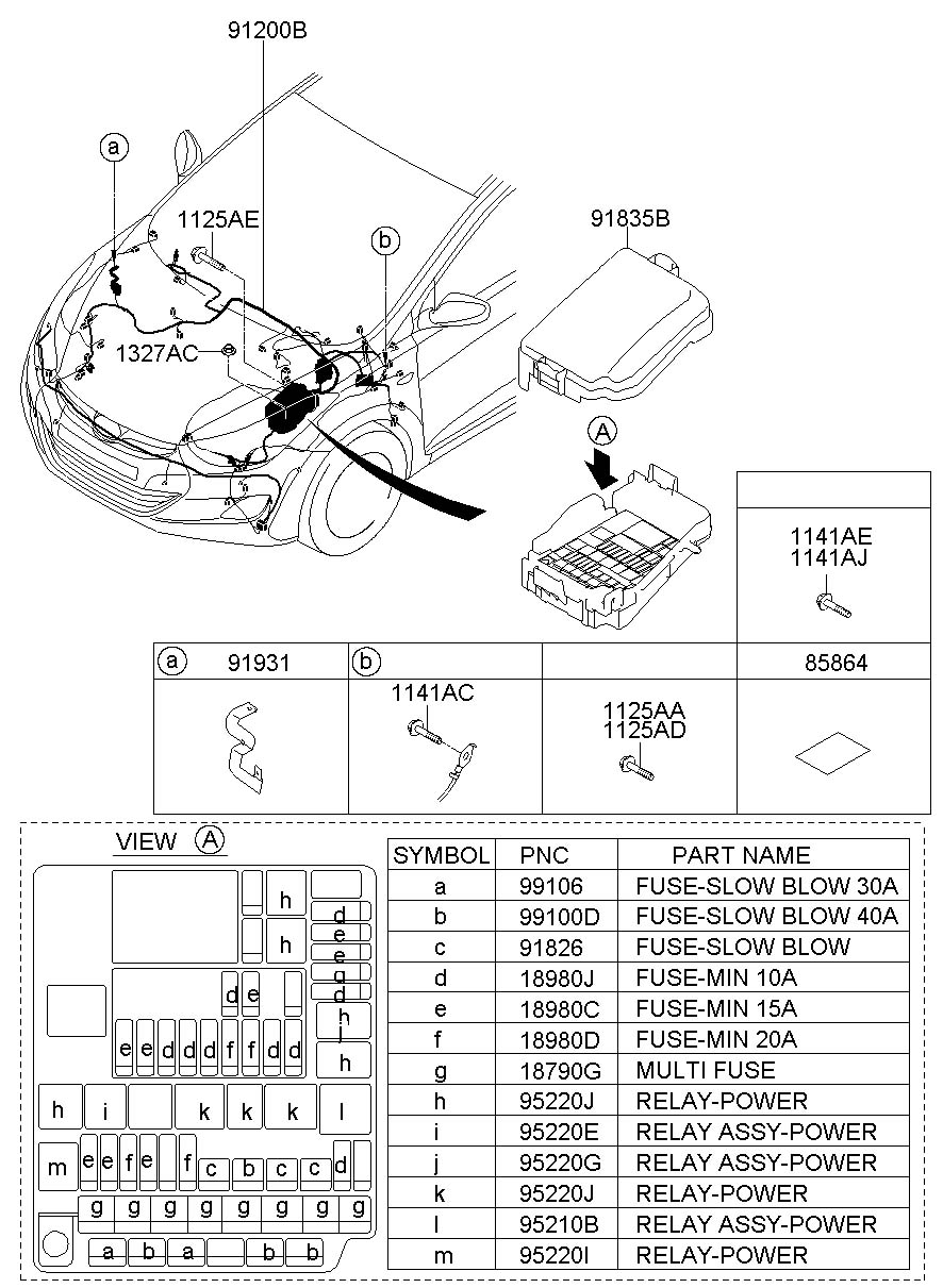 2010 Accent Fuse Box Wiring Diagram