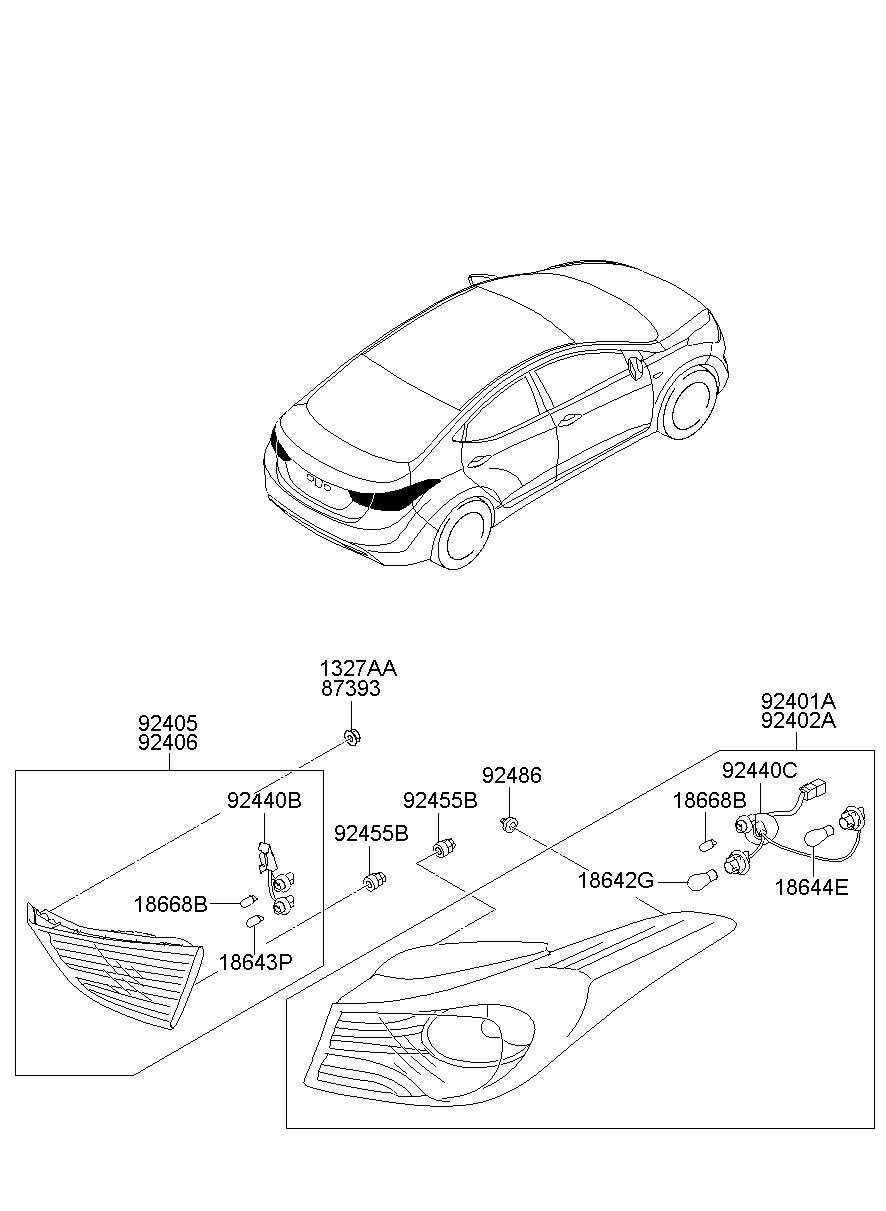 2011 Hyundai Elantra Socket