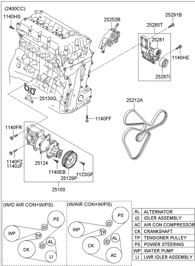 252123c100 - Hyundai V