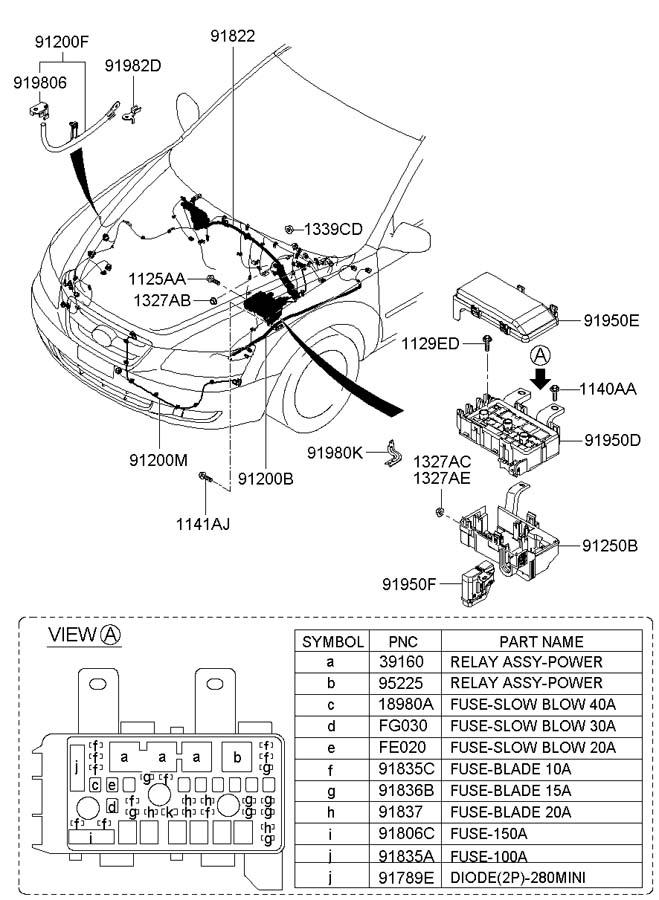 1898005932 - Hyundai Midifuse