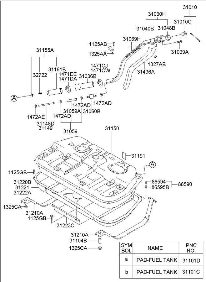 2003 hyundai santa fe fuel tank wiring diagram  stereo