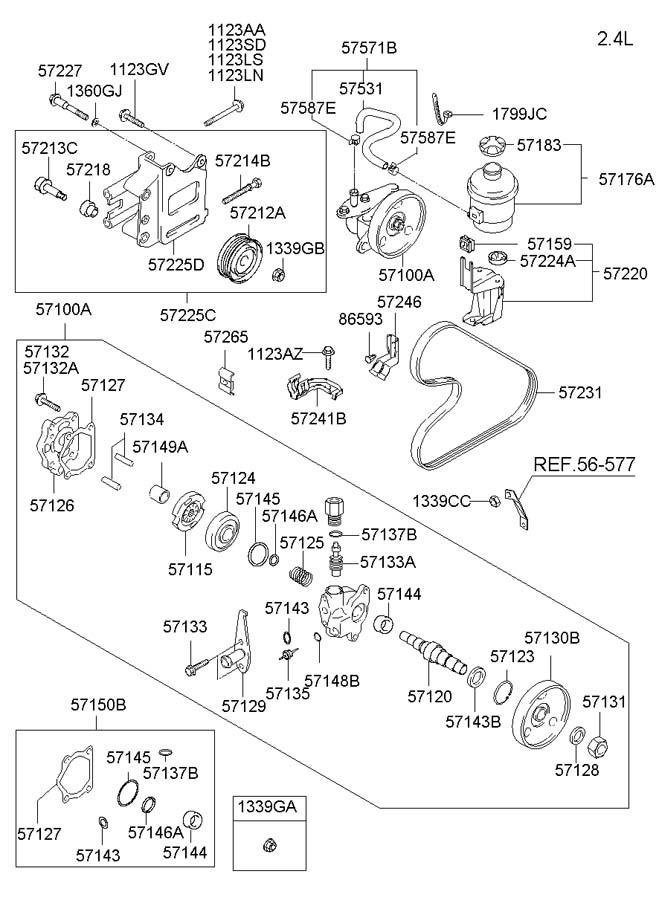 2002 Acura Tl Timing Belt Diagram moreover 2003 Kia Sorento Spark Plug Wire Diagram in addition 3 5l Chrysler Engine Problems further 2013 Chevy Equinox Oil Filter For Gm in addition Showassembly. on hyundai santa fe spark plugs diagram