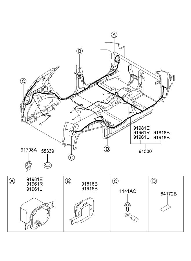 96 Windstar Fuse Box Diagram