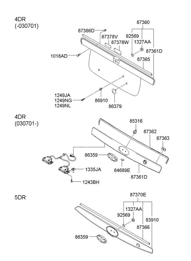 Hma D Pa on 2002 Hyundai Accent Parts Diagram