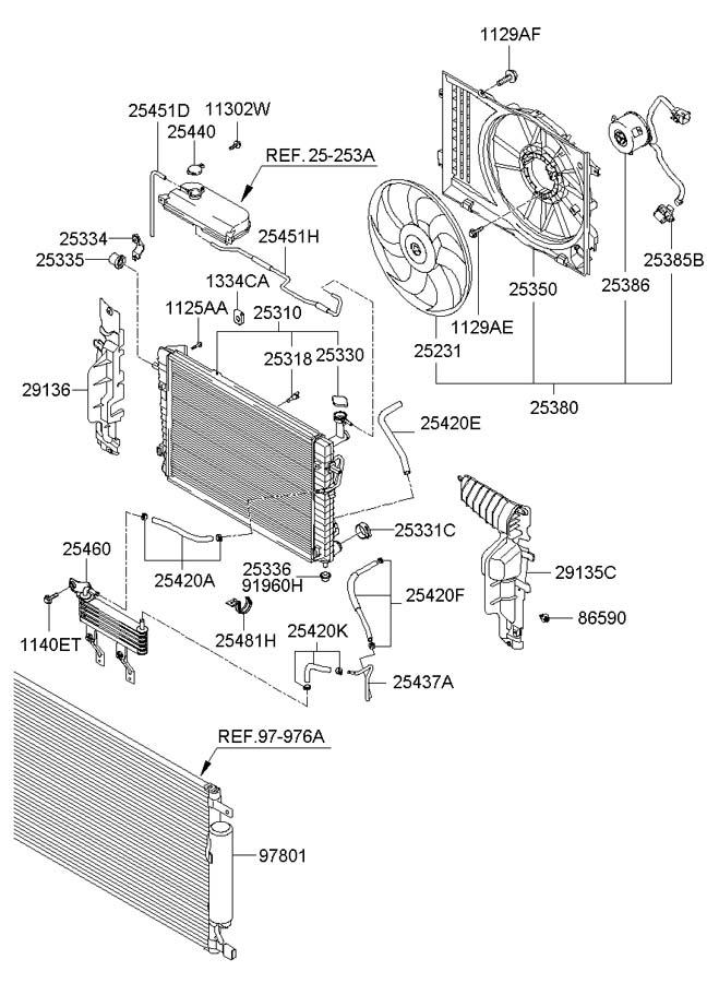 2006 Hyundai Tucson Plug Radiator Drain Conmanual