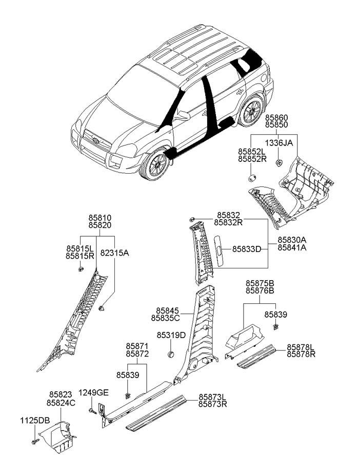 1999 Hyundai Sonata Fuse Box Diagram as well Volkswagen Golf Mk3 Fuse Box Diagram also 1992 Buick Wiring Diagrams Automotive together with Ford Fusion 2006 Fuse Box in addition Suspension Wrangler Tj. on hyundai tucson interior