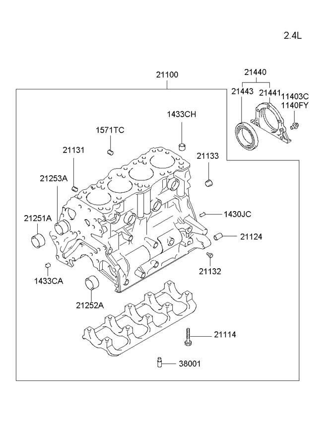 2113523010 - hyundai valve