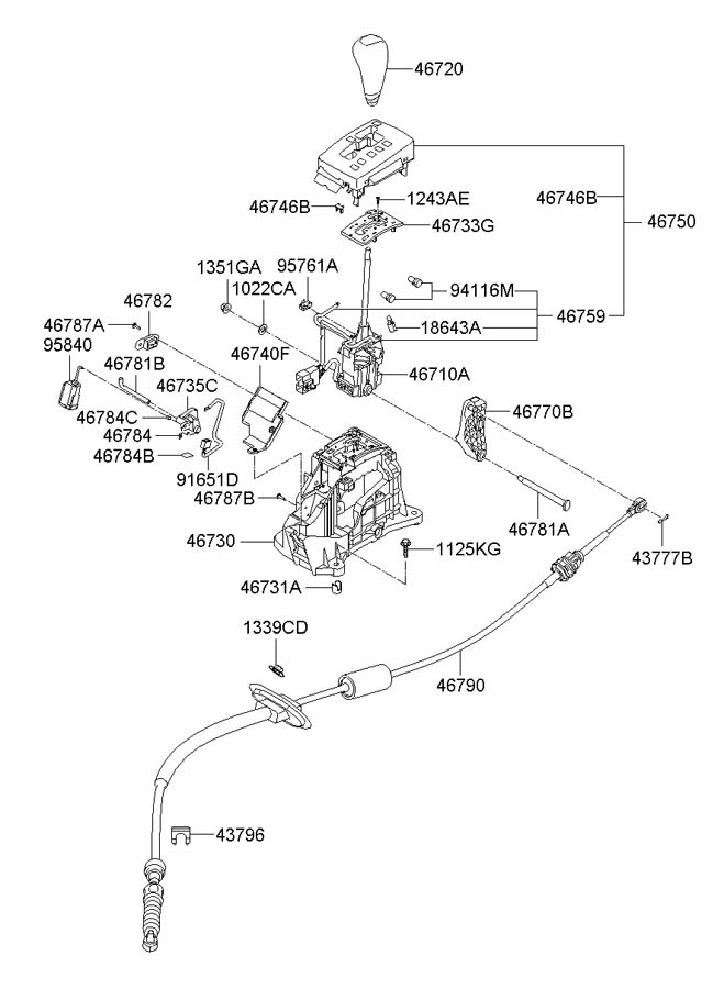 Hyundai Sonata Switch Assembly