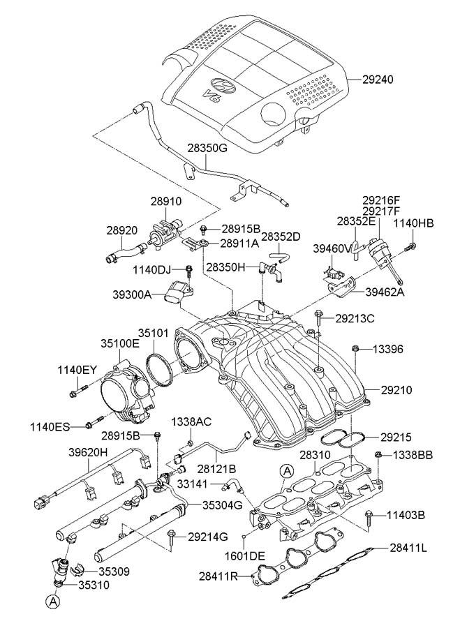 289103c200 - Hyundai Valve