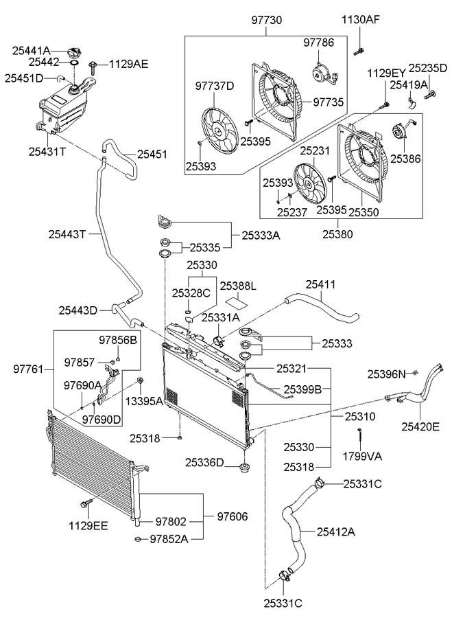 2007 Hyundai Santa Fe Plug
