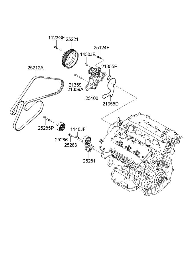 Ford Escape Timing Belt Auto Engine And Parts Diagram together with Nissan 2 5 Valve Cover also Hyundai Genesis 2 0t Performance Parts besides Honda Accord Fuse Box Diagram 374841 as well Centric 12051038 Disc Brake Rotor. on hyundai genesis coupe v6 engine