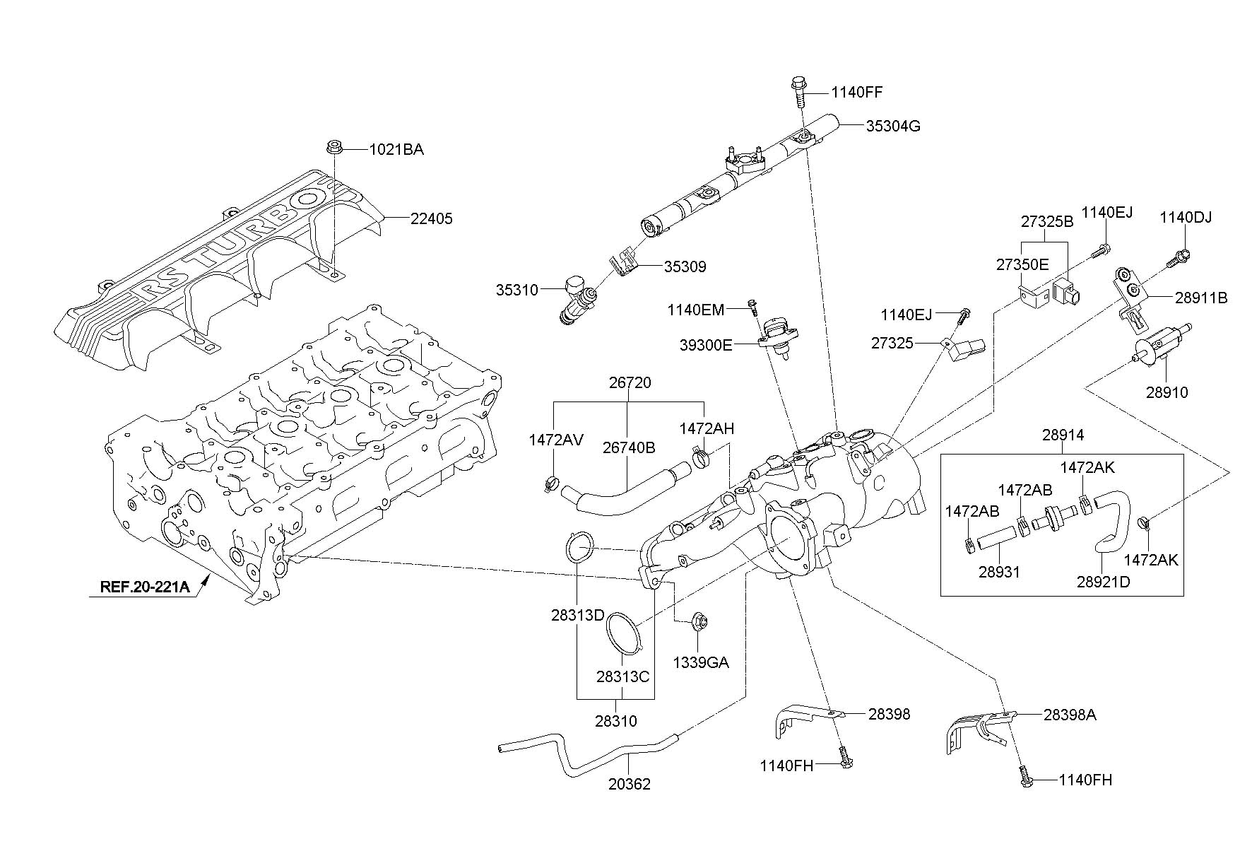 hyundai genesis parts diagram likewise 2010 hood  hyundai