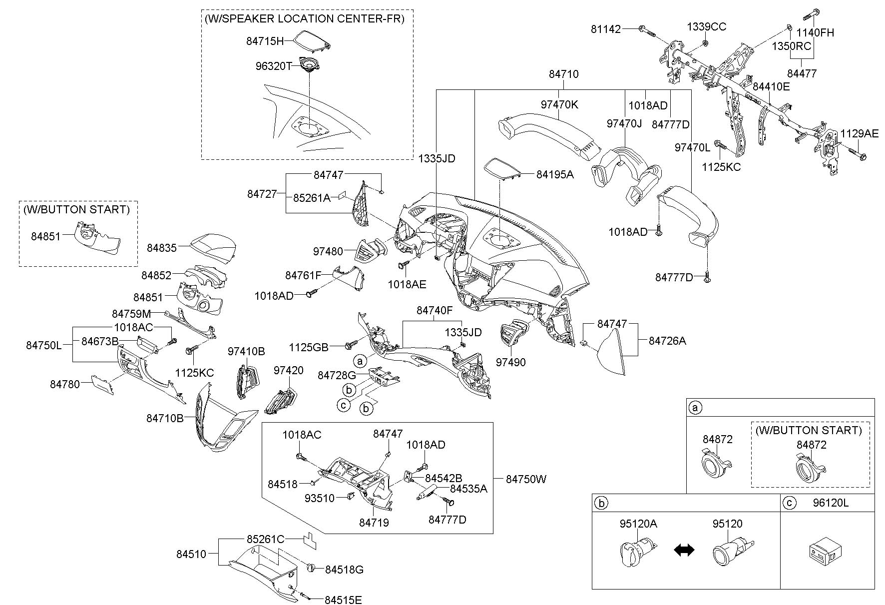 2013 hyundai veloster parts diagram