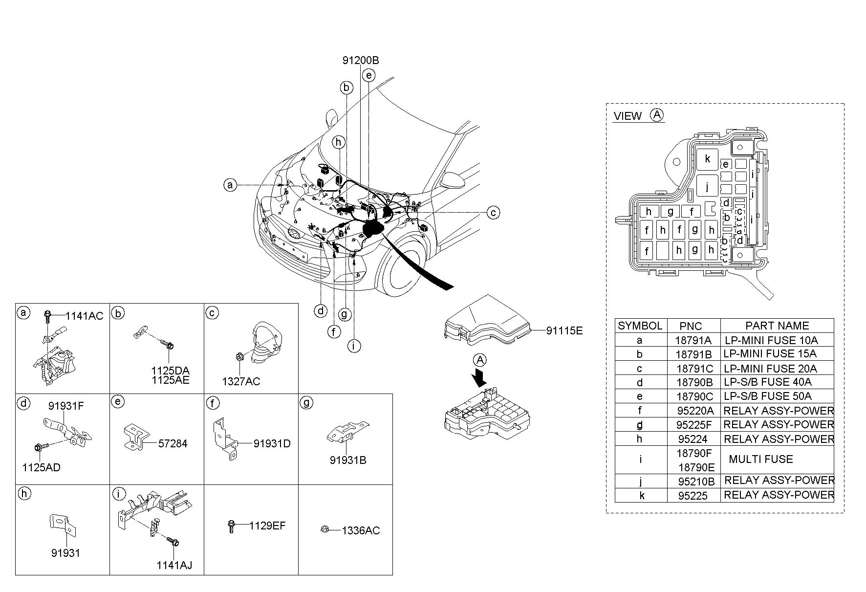 2001 hyundai fuse box 2001 wiring diagrams