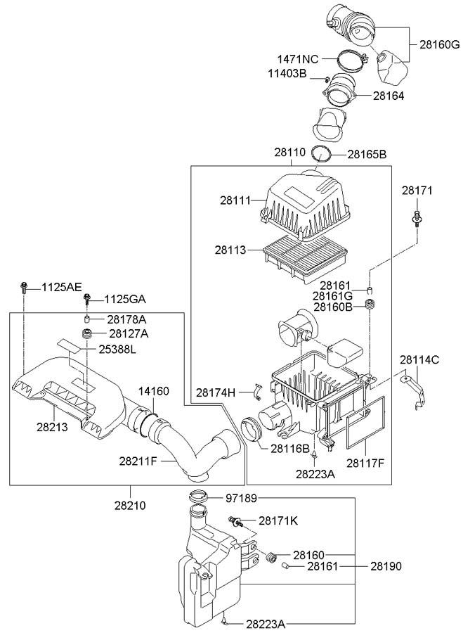 2817402400 - Hyundai Clamp
