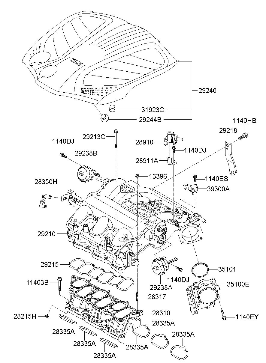azera engine diagram azera free engine image for user 2011 hyundai santa fe  engine diagram