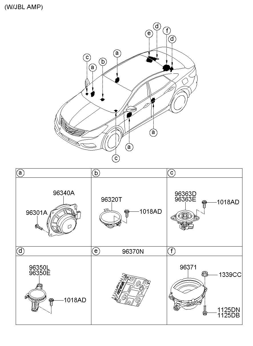 963303V100     Hyundai    Speaker   protector assembly rear   rear  rr    door   Jim Ellis    Hyundai