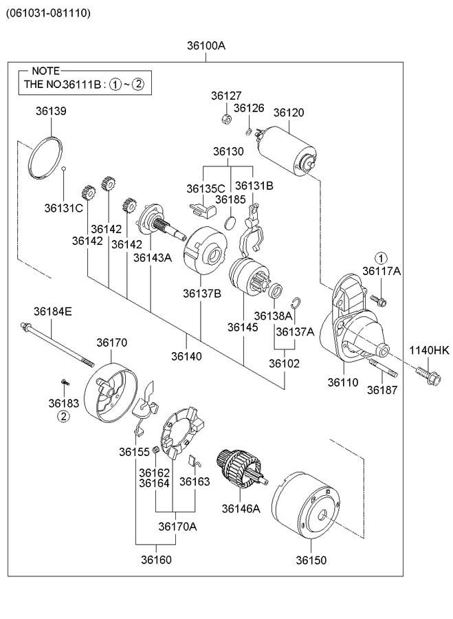 2007 hyundai tucson bolt flist 1140410557b jim ellis. Black Bedroom Furniture Sets. Home Design Ideas