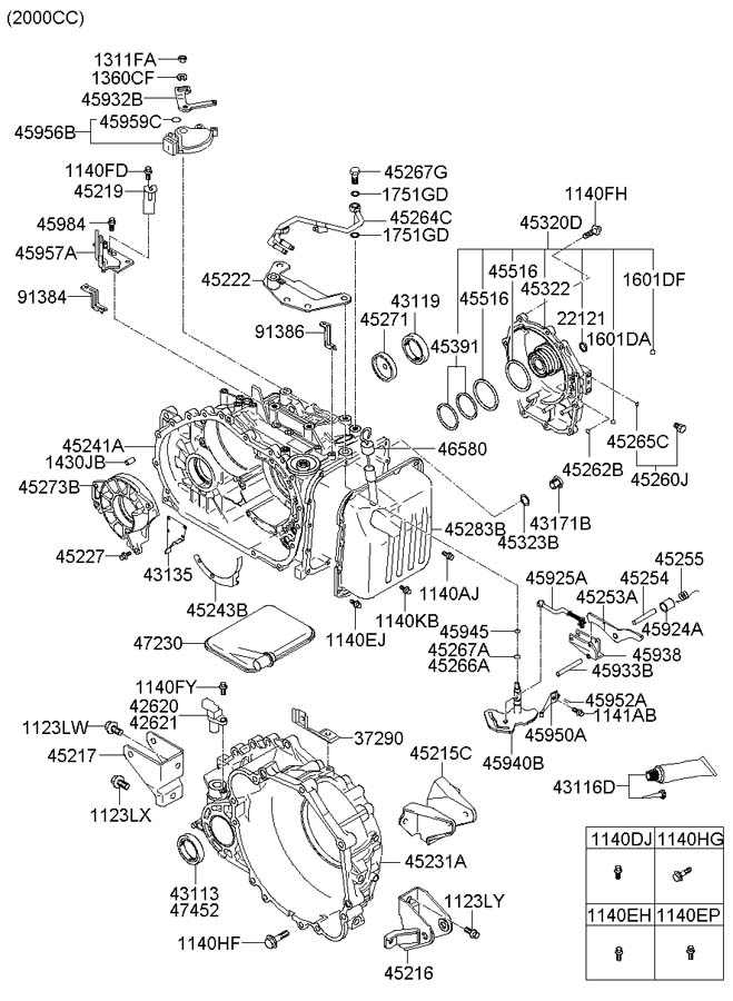 2006 Tiburon Fuel Filter Location