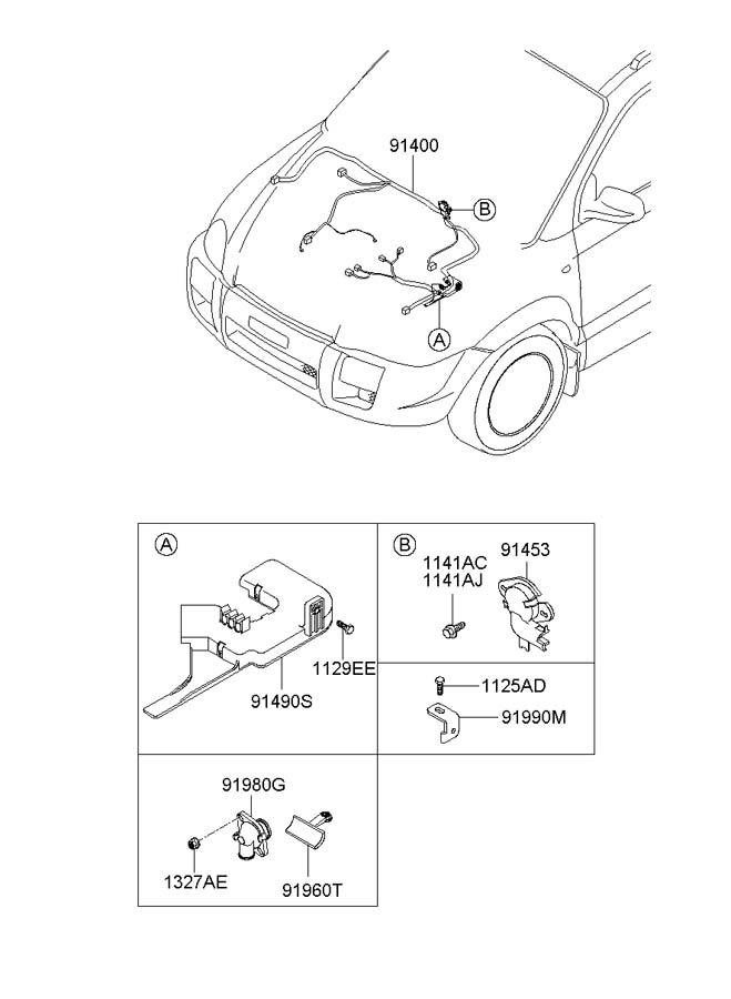 Hyundai Tucson Wiring Assembly