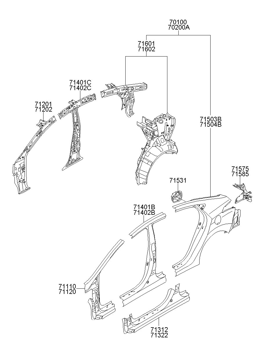 2013 hyundai elantra windshield parts diagram  hyundai