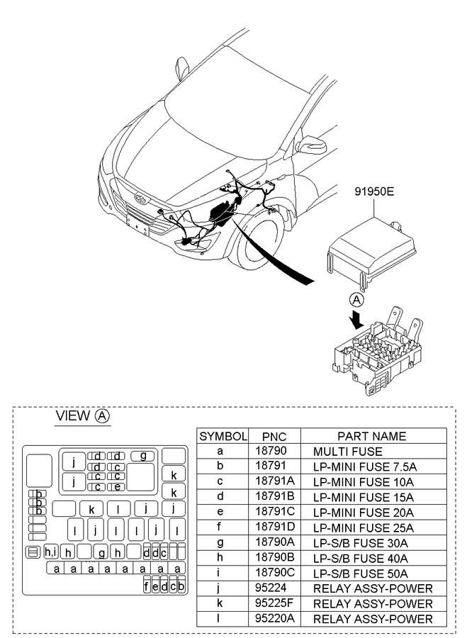 1879001124 - Hyundai Lp  B Fuse 40a