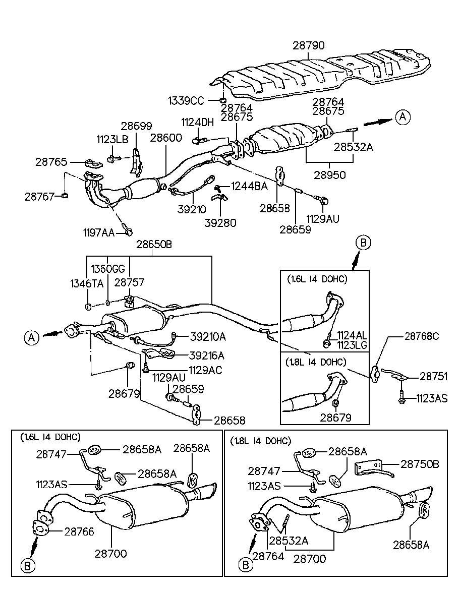 Hyundai Tiburon Stud   12x32    Alpha  Systemsohc