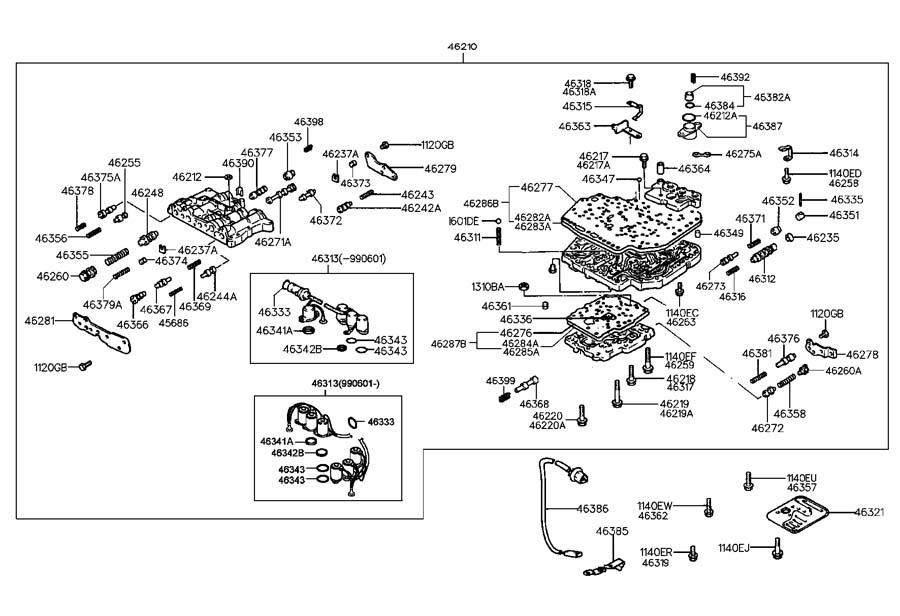 1999 Hyundai Accent Engine Diagram Motordb