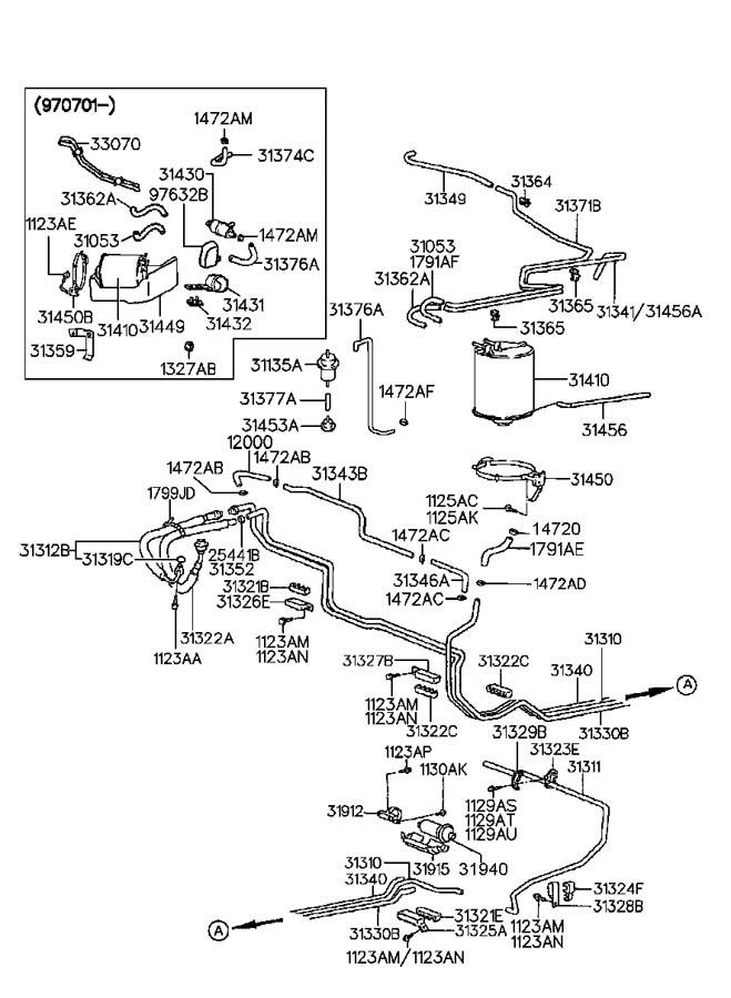 3191134000 - Hyundai Filter Assembly
