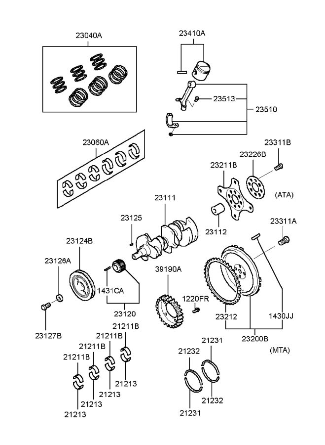2001 Hyundai Sonata Wiring Harness Diagram