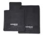 Floor Mats, Carpeted. Black 4-Piece Set Hook. image for your 1999 Hyundai