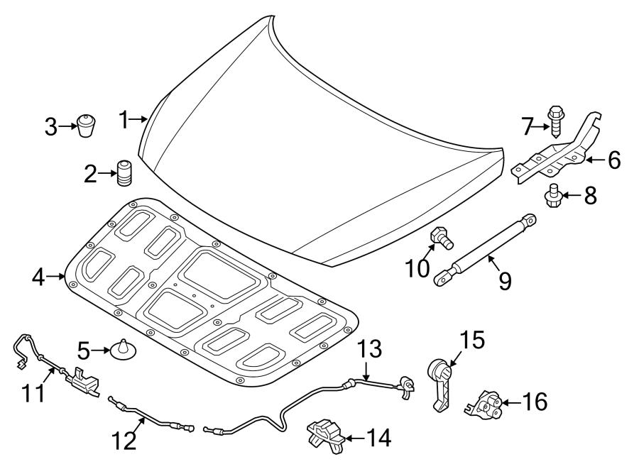 2015 Hyundai Sonata Cable Assembly