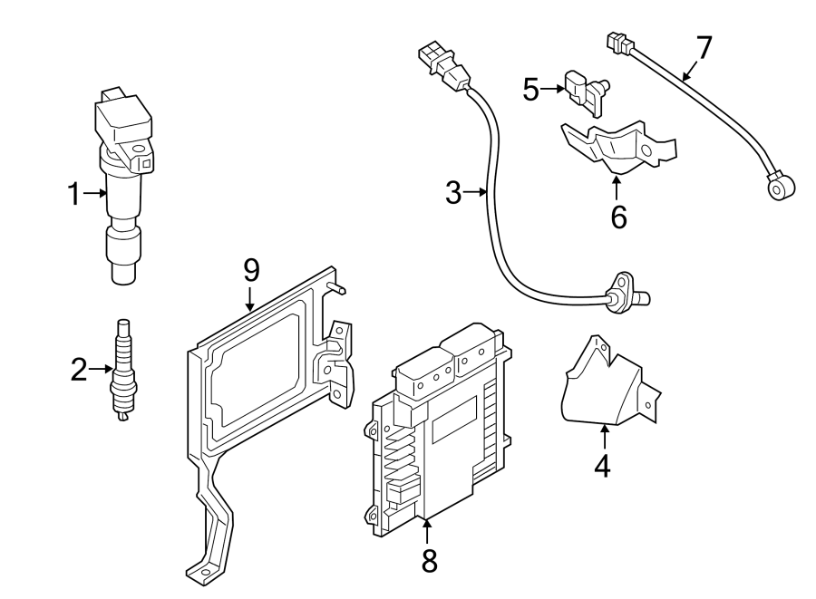 2015 Hyundai Sonata Crankshaft Position Sensor  Crnkshft
