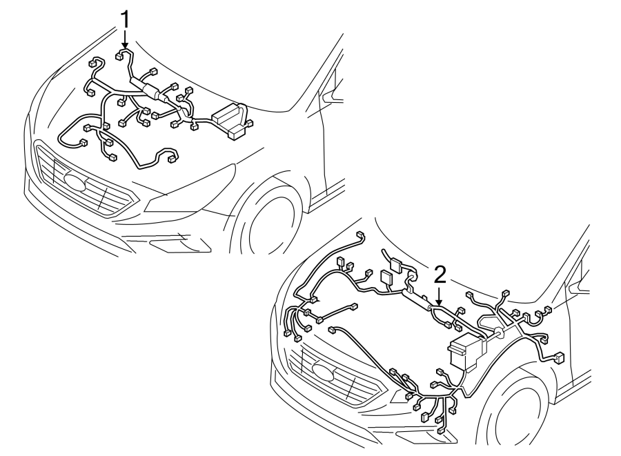 91400C2031 - Hyundai Engine harness. Engine Wiring Harness ...