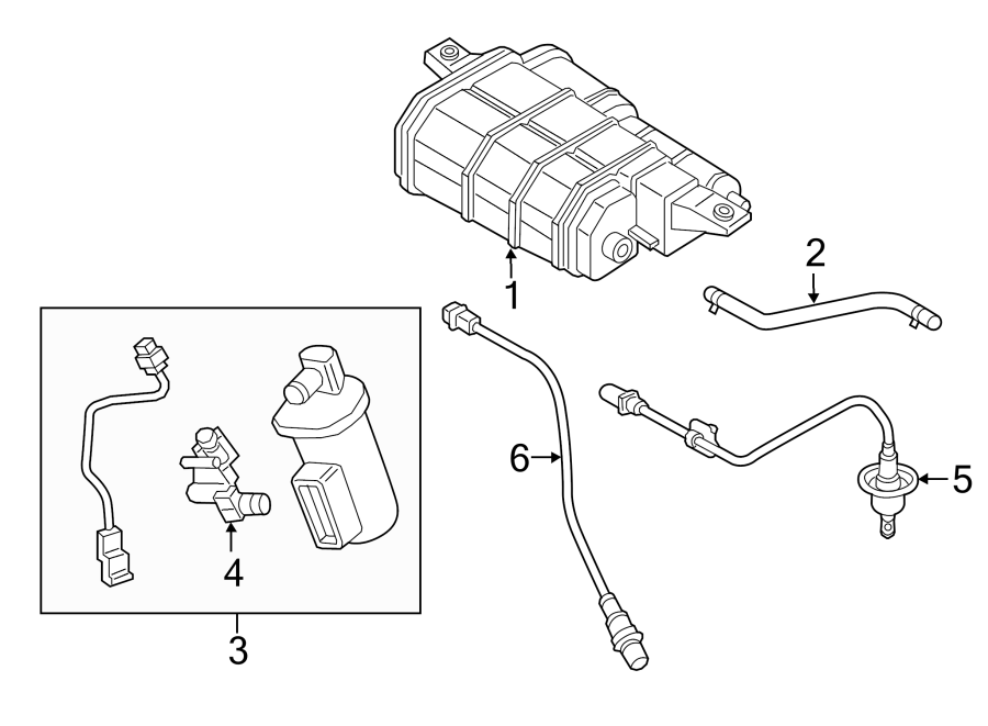 2015 hyundai sonata filter  u0026 canister valve assembly