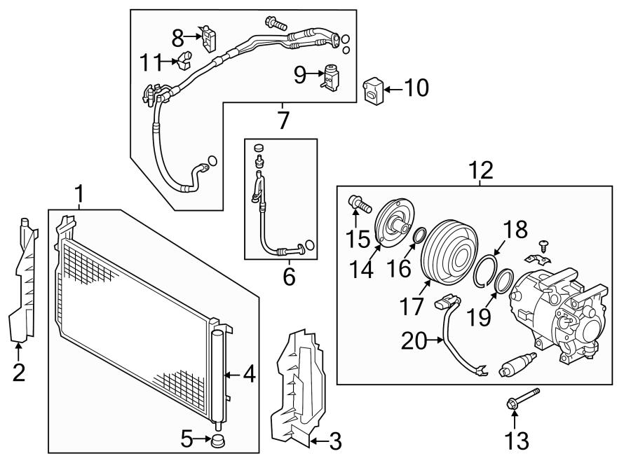 976063r000 - Hyundai Condenser Assembly
