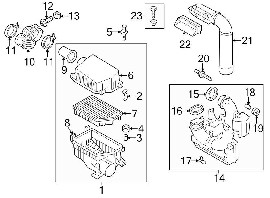 281403x520 - Hyundai Hose Assembly