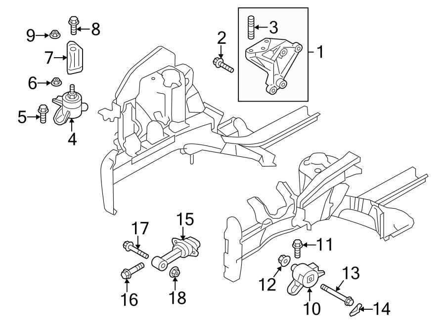 2012 Hyundai Veloster Bracket Assembly
