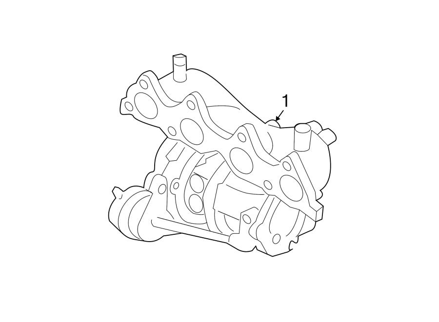 2015 Hyundai Veloster Turbocharger  Wturbocharger