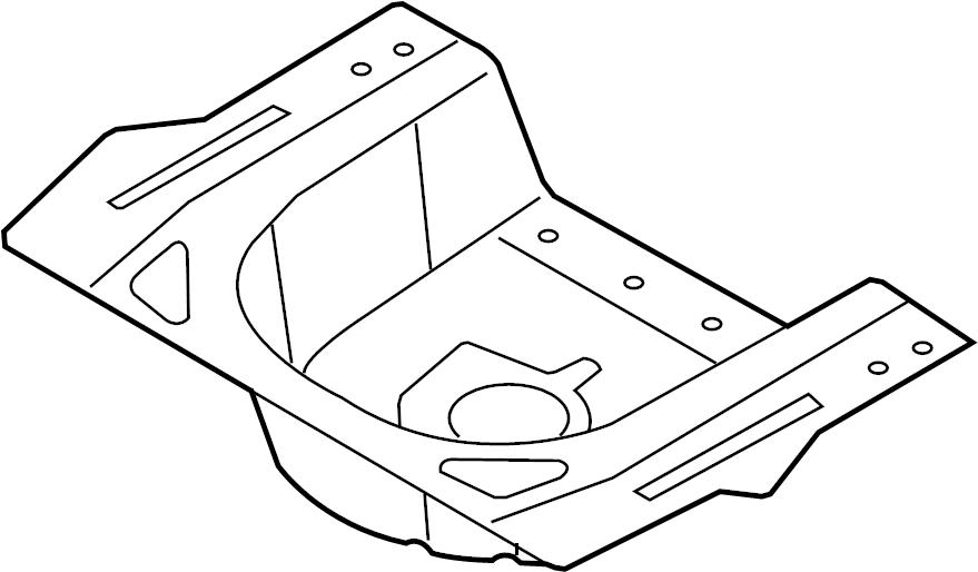 2015 Hyundai Sonata Panel Assembly Rear Rear Rr