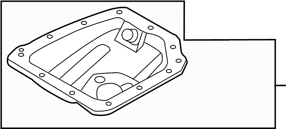 hyundai accent pan assembly - engine oil